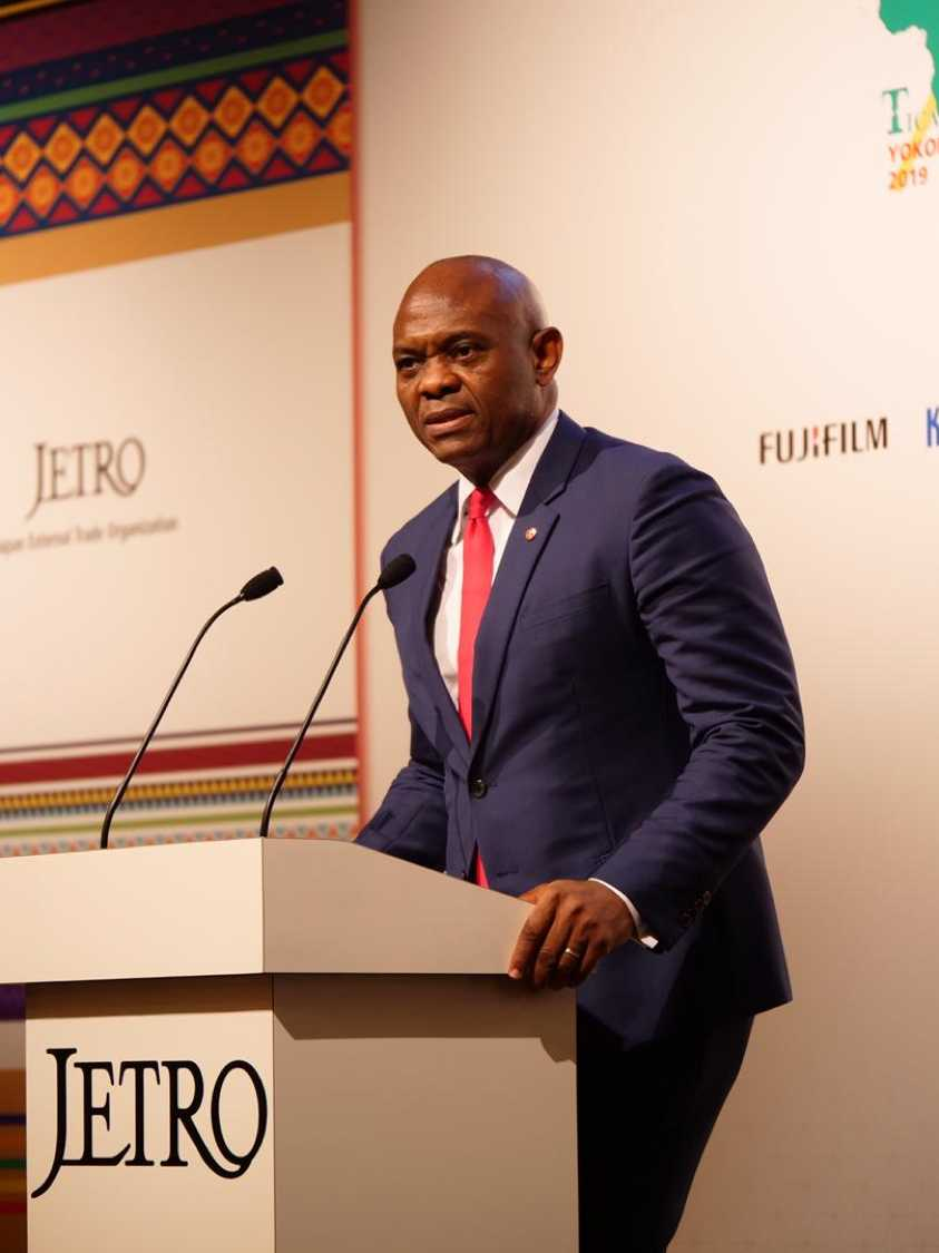 In an impassioned keynote speech, delivered before global leaders, at the 7th Tokyo International Conference on African Development (TICAD) in Yokohama, Japan, African investor and philanthropist Tony O. Elumelu CON, challenged the Government of Japan to invest 5% of its $50billion commitment to Africa, in empowering African entrepreneurs
